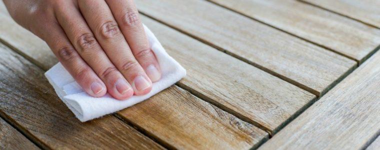 Olejowanie powierzchni drewnianych